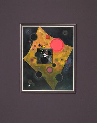 Wassily Kandinsky Akzent in Rosa, 1926 (klein)