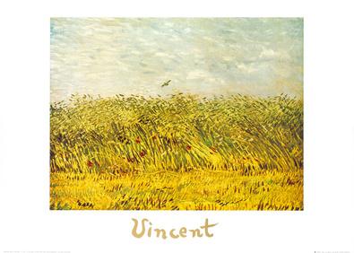 Vincent van Gogh The wheat field