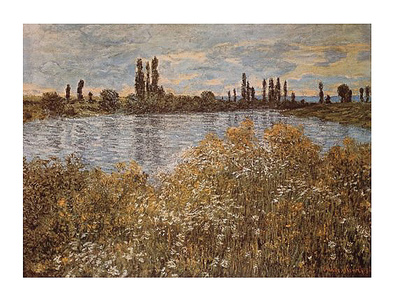 Claude Monet Banks of the Seine