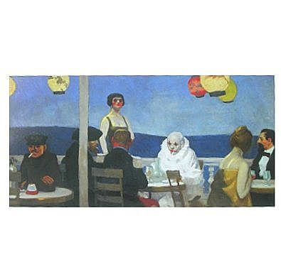 Edward Hopper Blauer Abend