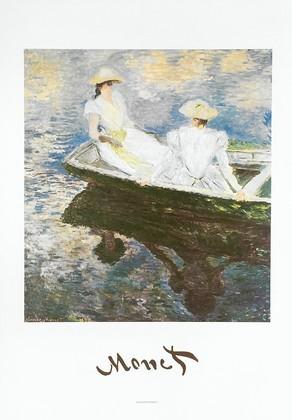 Claude Monet Ragazze in Barca