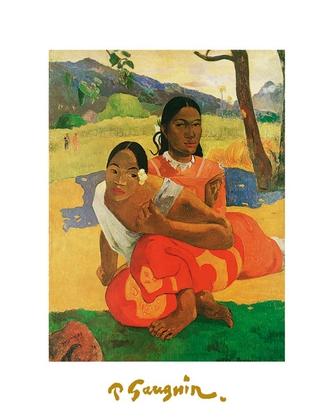 Paul Gauguin zwei Tahitianerinnen