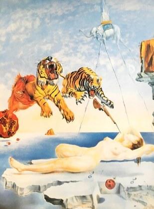 Salvador Dali Gala und die Tiger