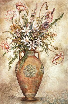 Arnold Iger 2er Set 'Fresco Floral I + II'