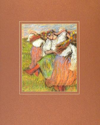 Edgar Degas Russian Dancer, 1899