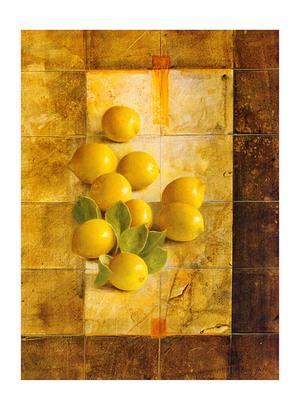 Sherry Loehr Golden Lemons
