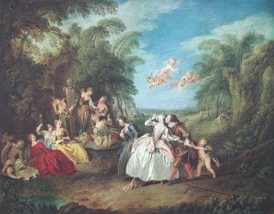 Jean Baptiste Joseph Pater Blinde Kuh   Spiel