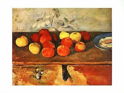 Paul Cezanne Pommes et biscuit
