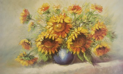 H. S. Clemens Sunflowers