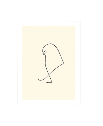 Pablo Picasso Der Spatz