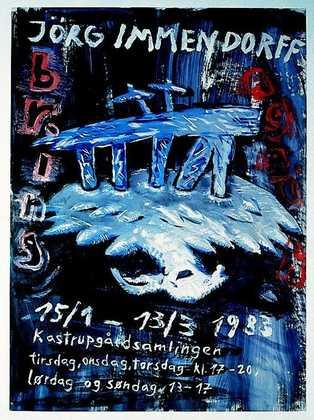 Joerg Immendorff Kastrupgardsamlingen 1983