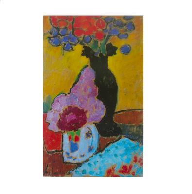 Alexej von Jawlensky Stillleben mit schwarzer Vase