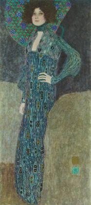Gustav Klimt Portrait von Emilie Floege   1902