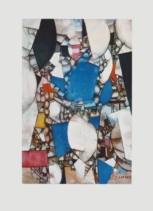 Fernand Leger La Femme en Bleu