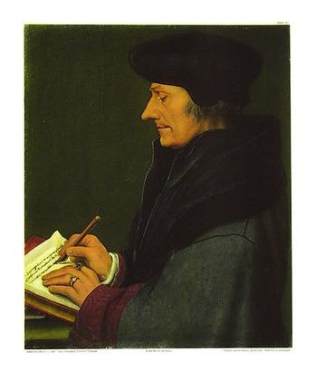 Hans Holbein Erasmus von Rotterdam (klein)