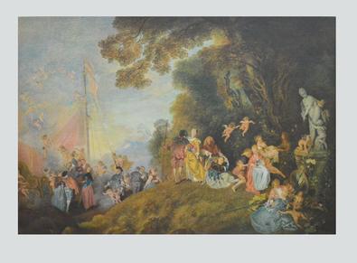 Jean-Antoine Watteau Einschiffung nach Kythera