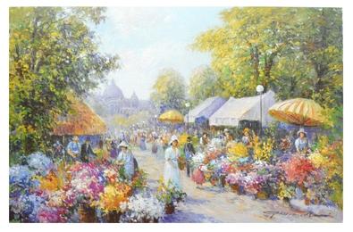 G. Neswadba Blumenmarkt