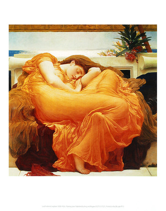 Frederic Leighton Flaming June