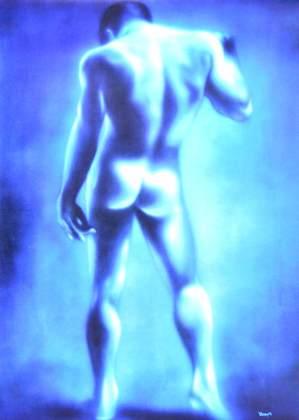 Joseph Stern Blauer Mann