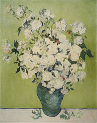 Van gogh vincent weisse rosen large