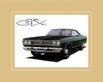 Chrysler Historical Prints 1969 Plymouth Hemi GTX