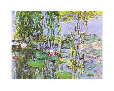 Claude Monet Seerosen (Ausschnitt)