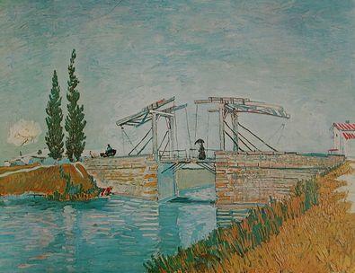 Vincent van Gogh Die Bruecke von Arles