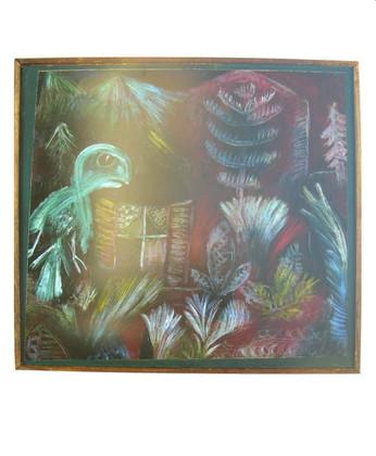 Paul Klee Tropische Daemmerung mit der Eule