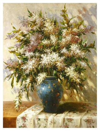 Sophie 2er Set 'Elegant Floral I-II'