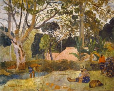 Paul Gauguin Der grosse Baum