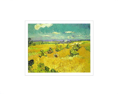 Vincent van Gogh The Wheat Field, 1888