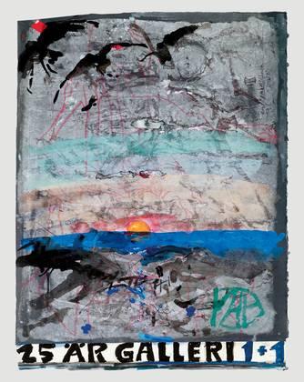 Horst Janssen 25 Jahre Gallerie 1und1