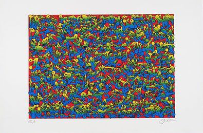 Oliver Loetz Puzzle I (rot)