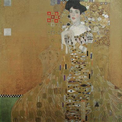 gustav klimt adele bloch bauer i poster kunstdruck bei. Black Bedroom Furniture Sets. Home Design Ideas