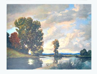 Lothar Rudolf Meilinger Am Fluss