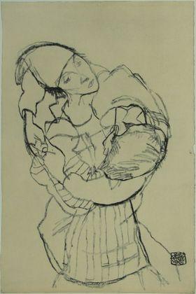 Egon Schiele Umarmung   1915