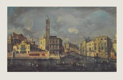 Francesco Guardi Canal Grande mit San Geremia