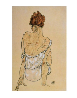 Egon Schiele Sitzende Frau