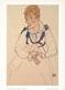 Schiele egon die frau des kuenstlers   1917 medium