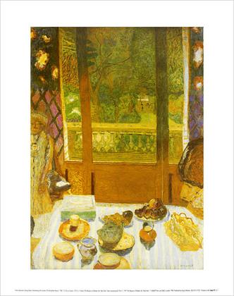 Pierre Bonnard The Breakfast Room, 1930