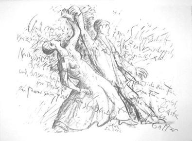 Guenter Grass Schleppschritt, 2002