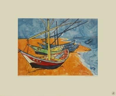 Vincent van Gogh Boote