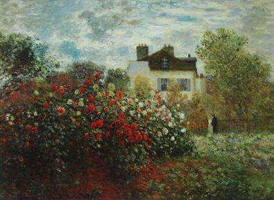 Claude Monet Der Garten des Kuenstlers in Argenteuil