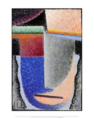 Alexej von Jawlensky Abstract Head, 1929