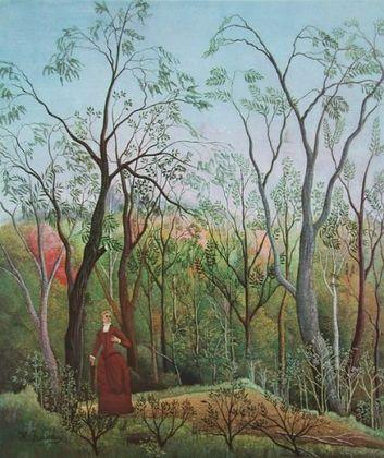 Henri Rousseau Am Waldrand