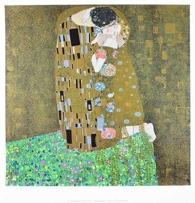 Gustav Klimt Der Kuss