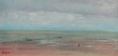 Edgar Degas Meeresstrand mit Duenen