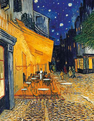 Vincent van Gogh Cafe-Terrasse am Abend