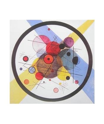 Wassily Kandinsky Kreise im Kreis