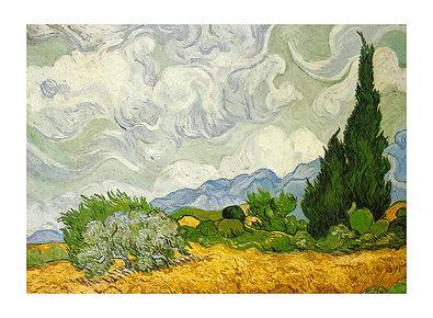 Vincent van Gogh Zypressenbaeume